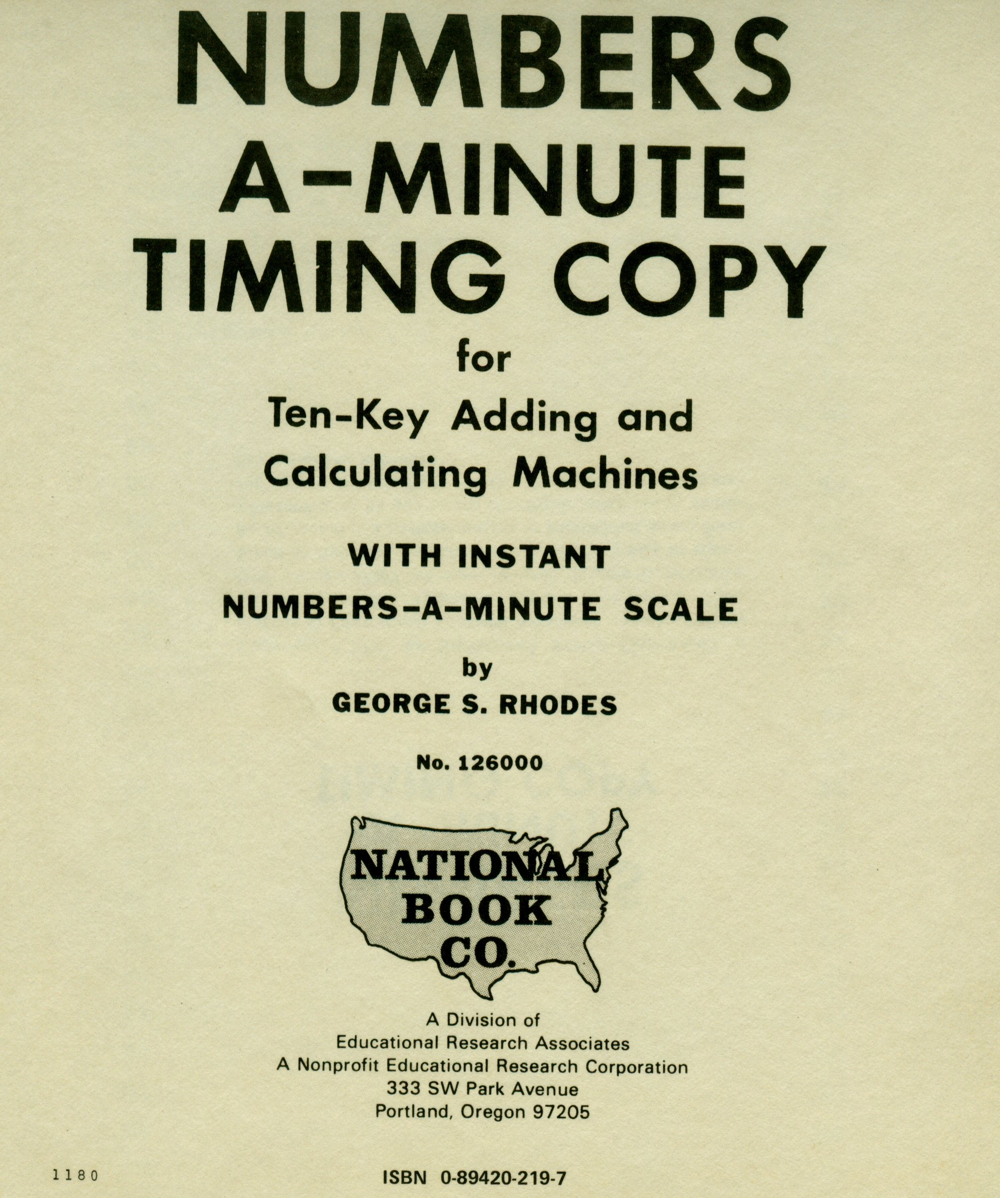 3-Minute Timings for Typing